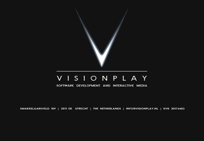 Visionplay, software development and interactive media